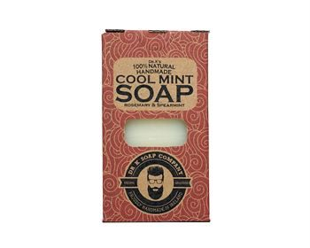 Dr K Soap Company Cool Mint Body Soap XL 225g