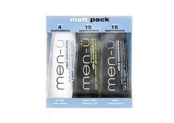 men-ü Matt Pack 3 x 15ml