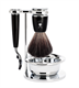 Muhle Shaving Set, Synthetic Brush With Mach3