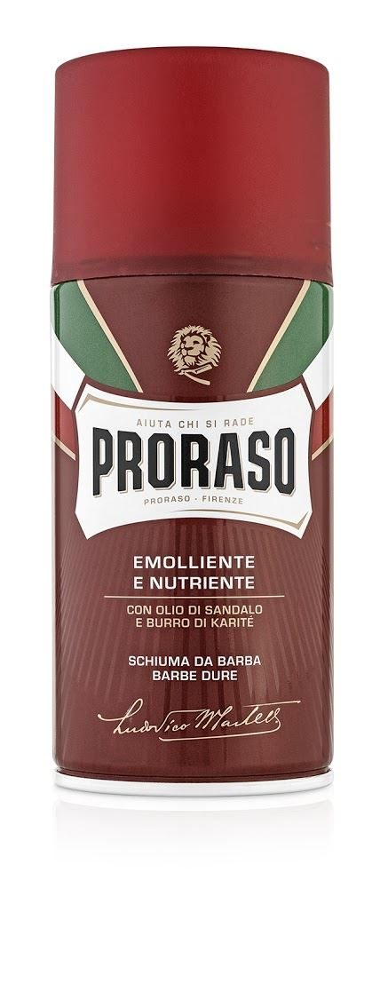 proraso_red_300ml_foam