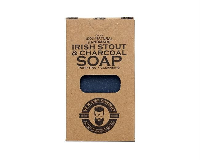 Dr K Soap Company Irish Stout Charcoal Body Soap XL 225g