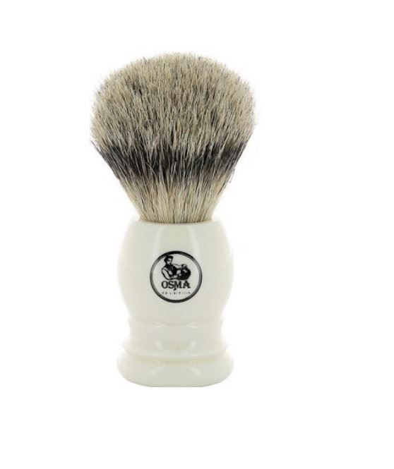 Osma Traditional Silvertip Badger Shaving Brush