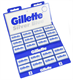Gillette Silver Blue Double Edged  (pack of 100 blades)